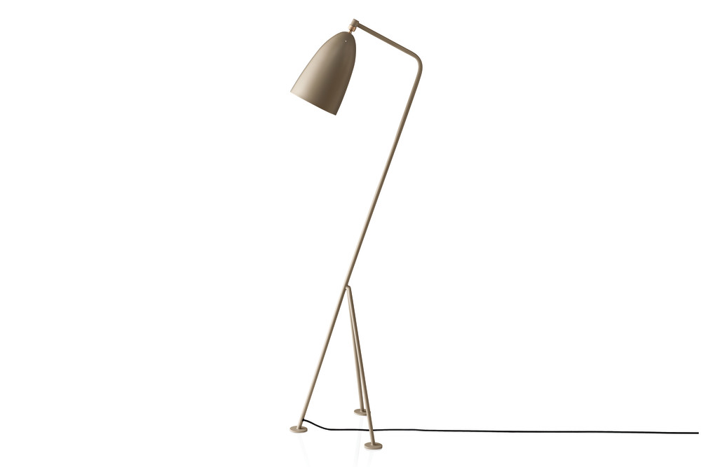 grasshopper floor lamp gubi metal blue grey by gubi. Black Bedroom Furniture Sets. Home Design Ideas
