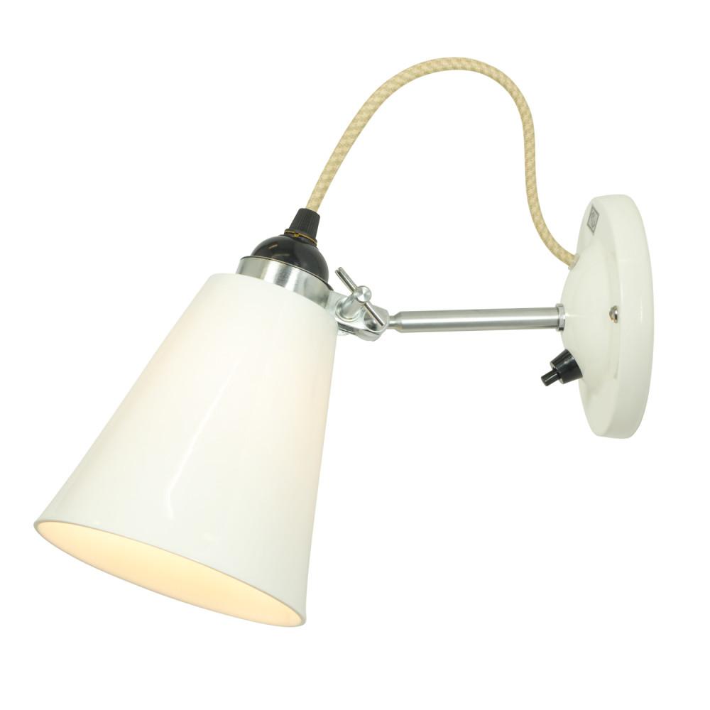Led Wall Light Small : Hector Flowerpot Wall Light With Switch, Medium by Original BTC