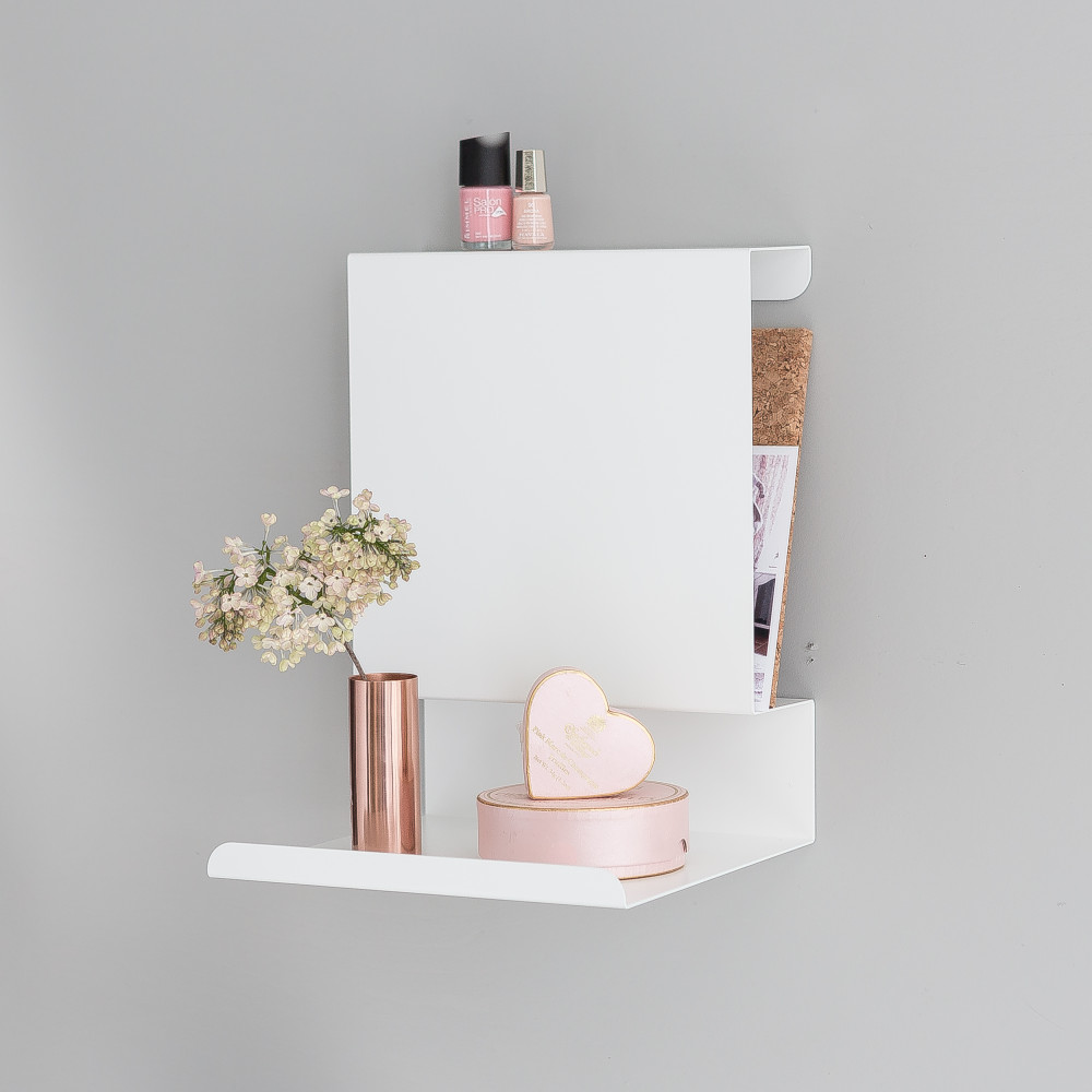 White Ledge:able Shelf