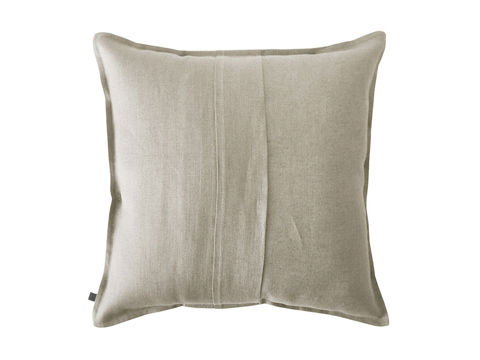natural grey linen cushion