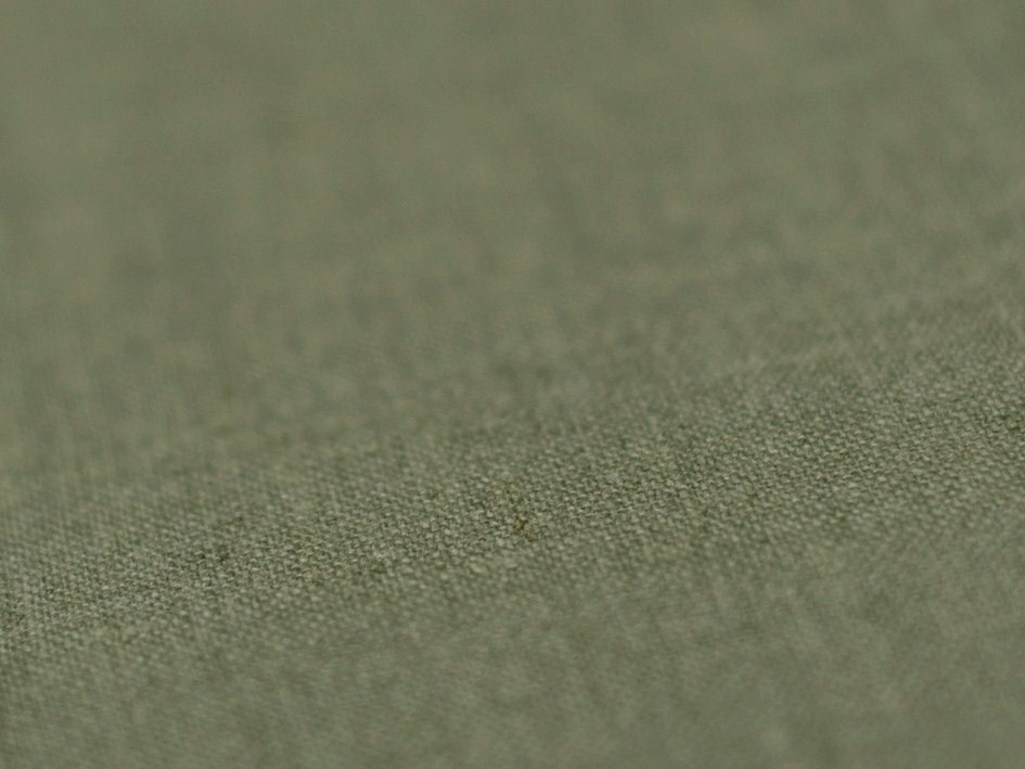 Moss green linen