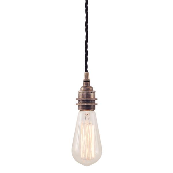 Lome Vintage Braided Suspension Pendant Light