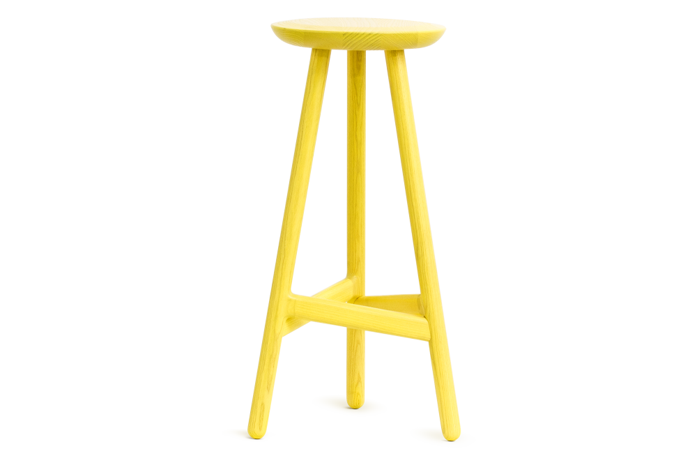 Yellow And Black Stool