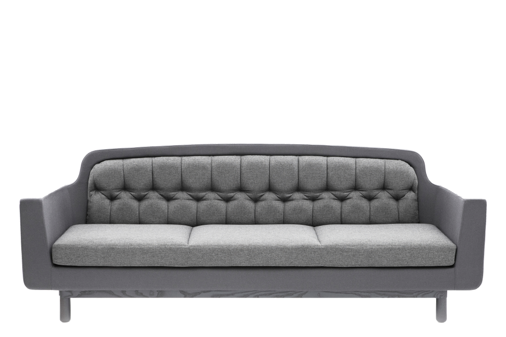 onkel 3 seater sofa blue by simon legald for normann copenhagen. Black Bedroom Furniture Sets. Home Design Ideas