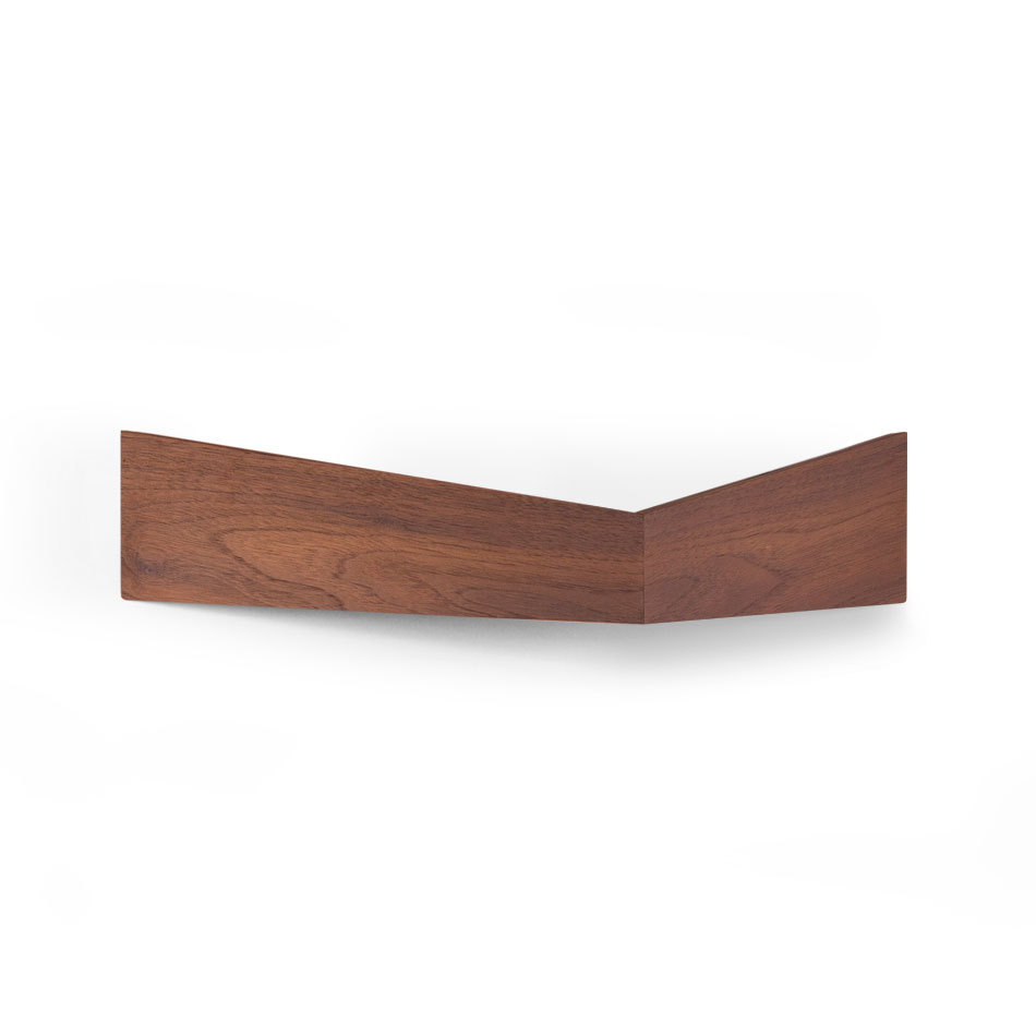 Medium Walnut Pelican Shelf