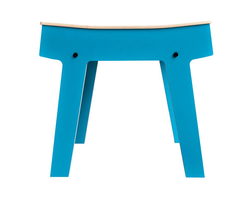 Pi Stool - Iris Blue