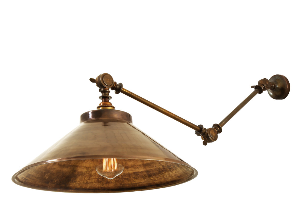 Rio Adjustable Industrial Wall Light
