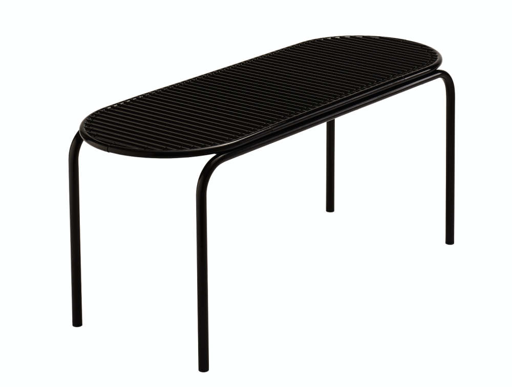 ROLL COLLECTION Bench Black