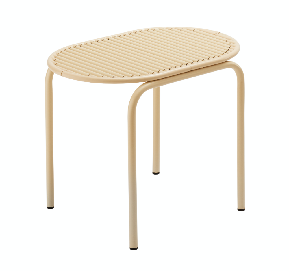 Roll Collection Stool Beige