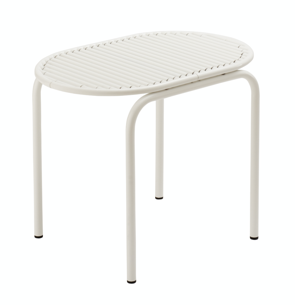Roll Collection Stool White