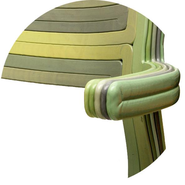 Detail of RvR Chair, Mint