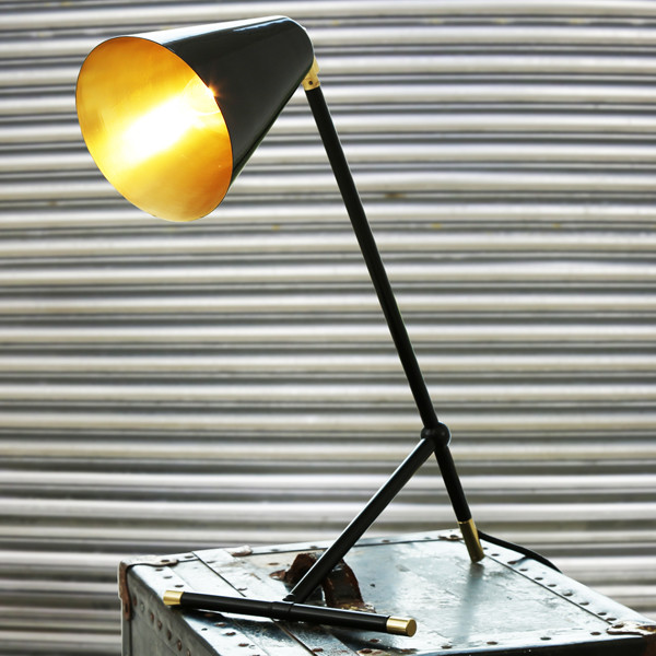 Santa Clara Modern Industrial Table Lamp