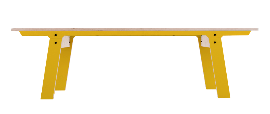 Slim Bench 01 Mid - Canary Yellow