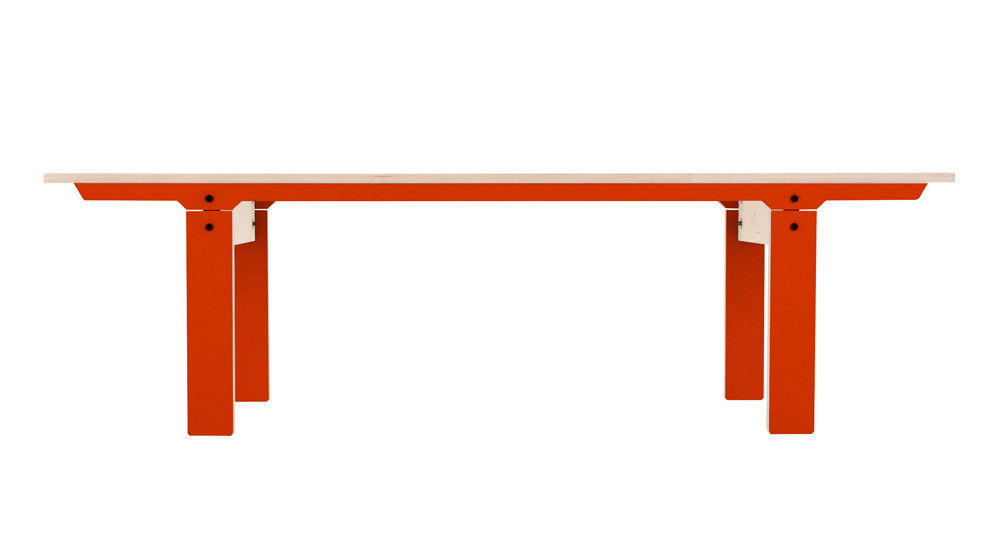 Slim Bench 04 Mid - Foxy Orange