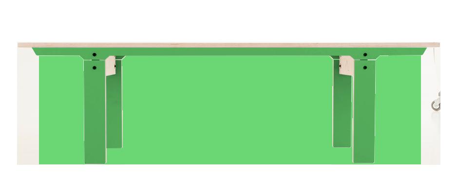 Slim Bench 04 Mid - Palm Leaf Green