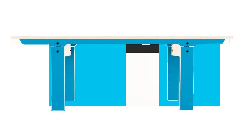 Slim Bench 04 Small - Iris Blue