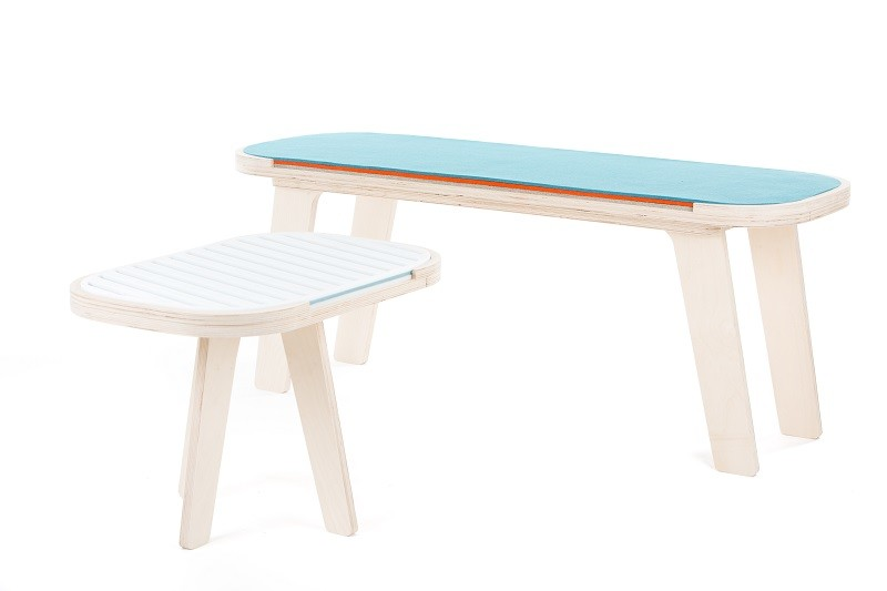 rfrom Slim Touch Bench with Slim Touch Side Table