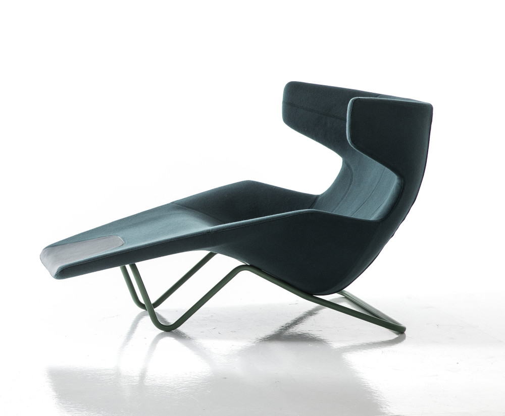 Take A Line For A Walk Chaise Lounge By Moroso
