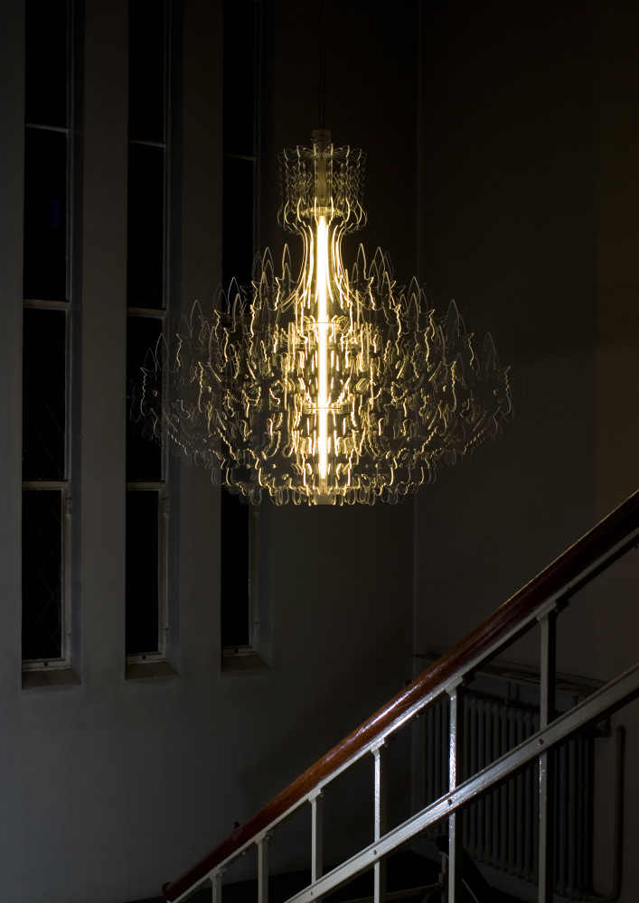 Therese XL chandelier by Sander Mulder