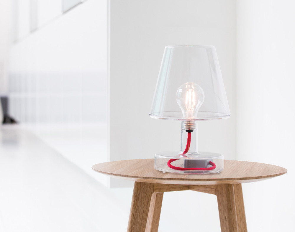 Transloetje Table Lamp Transparent by Alex Bergman For Fatboy