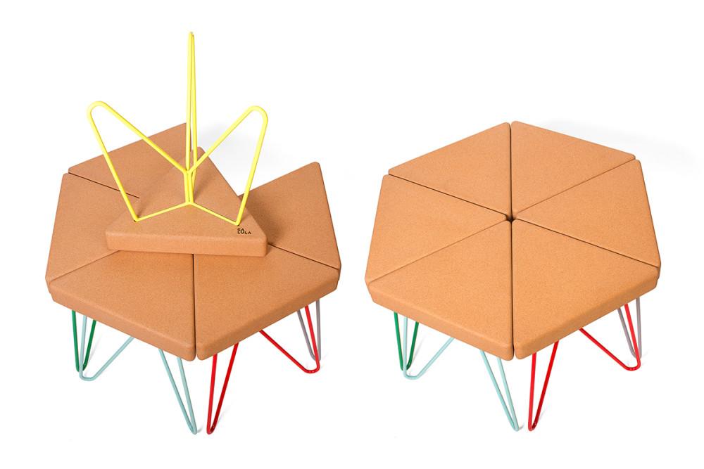 Três Stool.table - 6 units