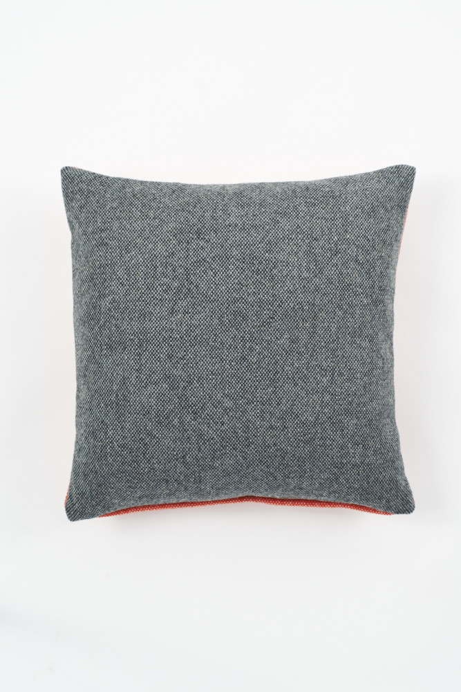 Twin Tone Cushion - Charcoal