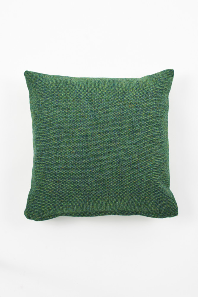 Twin Tone Cushion - Forest Green