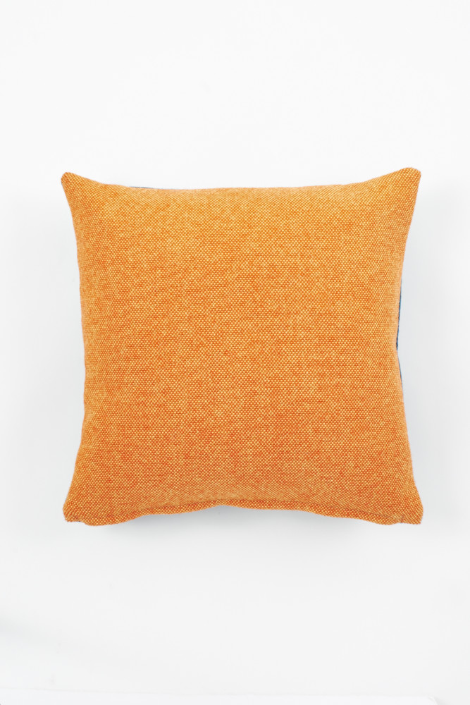 Twin Tone Cushion - Seville Orange