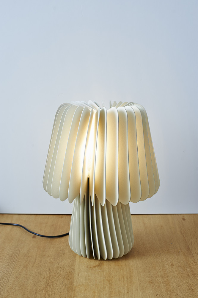 Beam Table Lamp - Pale Grey