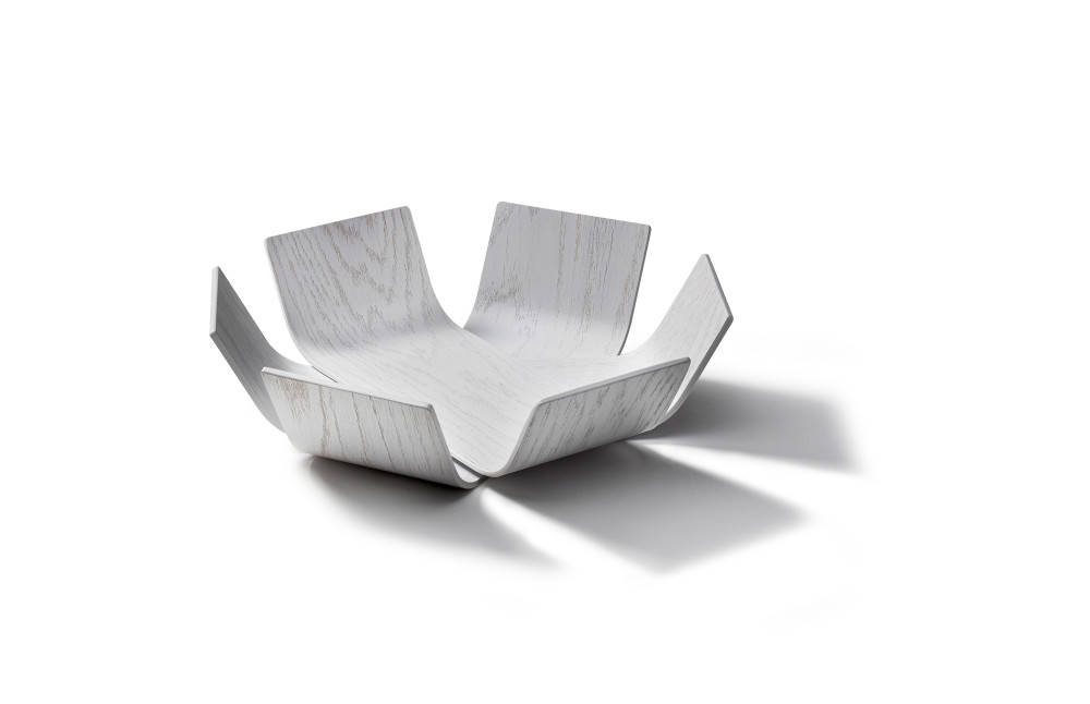 Lily bowl small, white