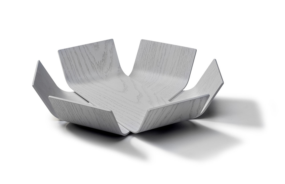 Lily bowl medium, white