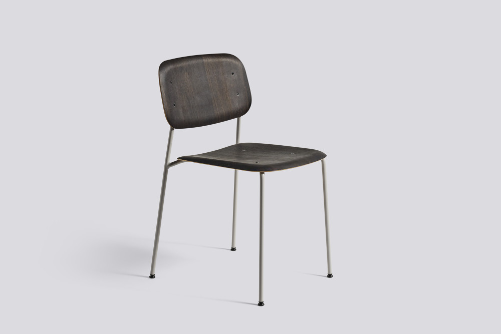 Soft Edge Dining Chair with Metal Frame by Hay