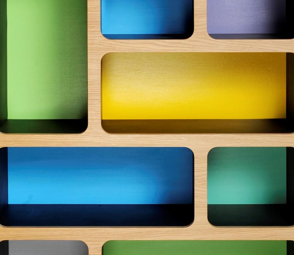 Green/Blue/Yellow scheme