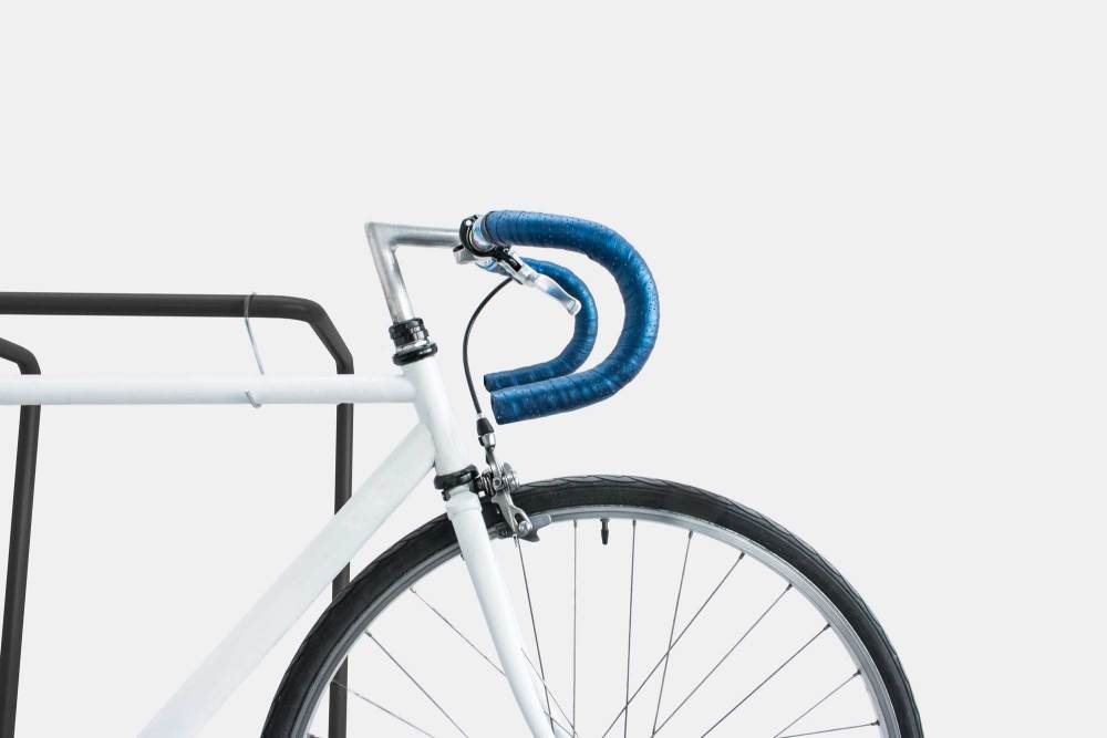 The small rail can also be used as bike storage