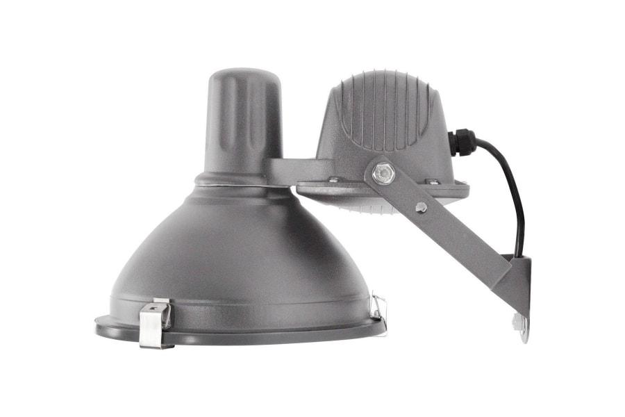 Industrial Wall Lamp Grey, Small