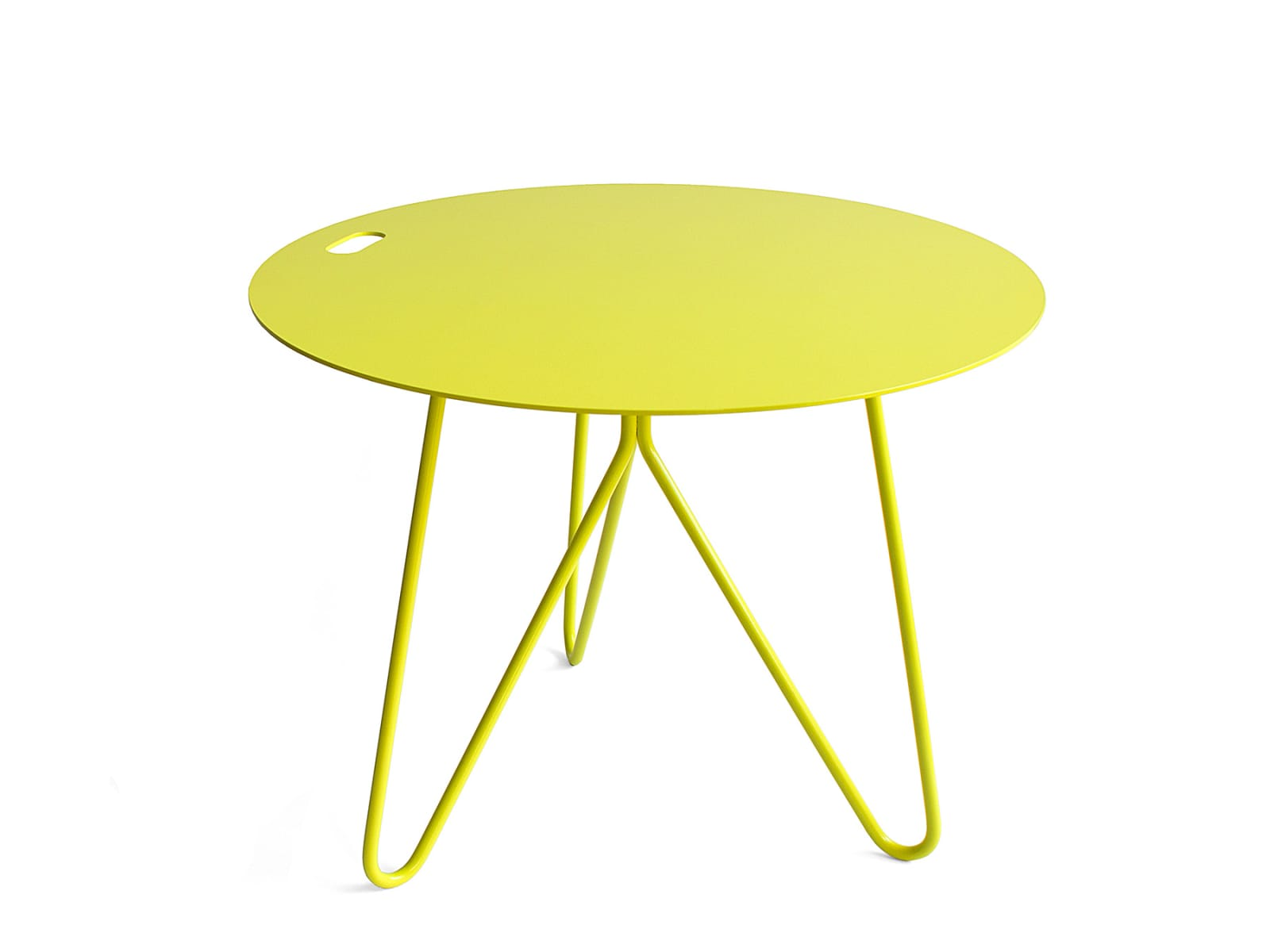 Seis Side Table Yellow