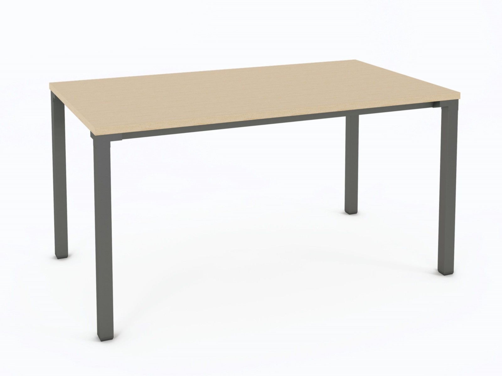 Kalidro Fixed Height Desk with Veneer Top