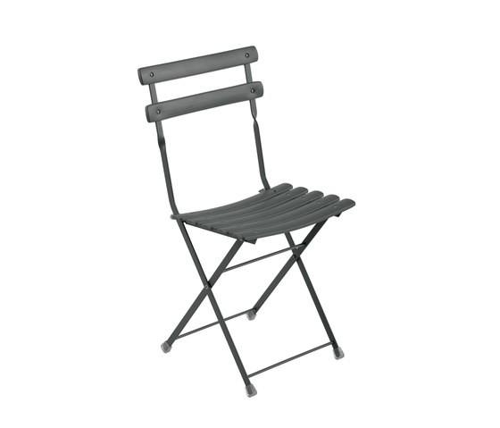 Arc en Ciel Folding Chair - Set of 12 Antique Iron 22