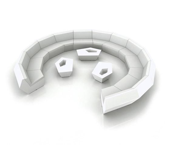 Faz Sofa - Modular White