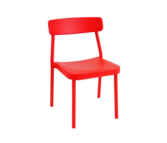 Grace Chair - Set of 4 Scarlet Red