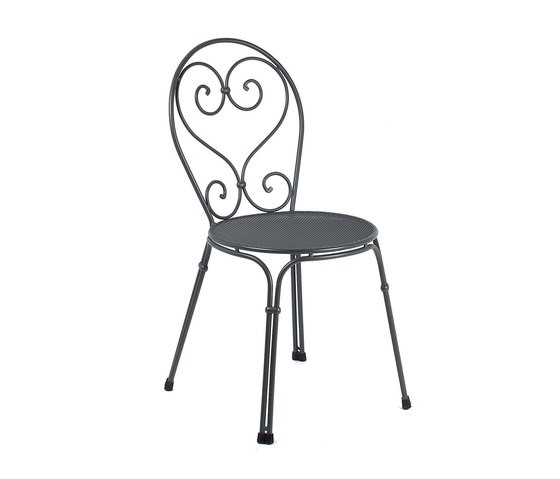 Pigalle chair - set of 4 Antique Iron 22