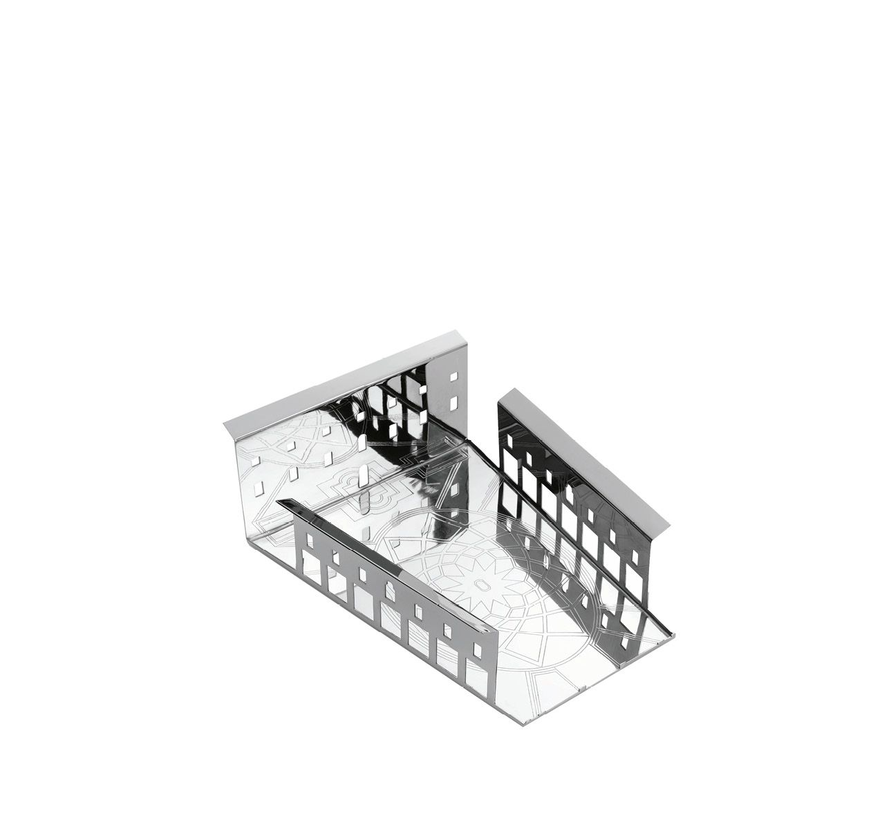 100 Piazze - Roma Piazza Campidoglio Tray Stainless Steel