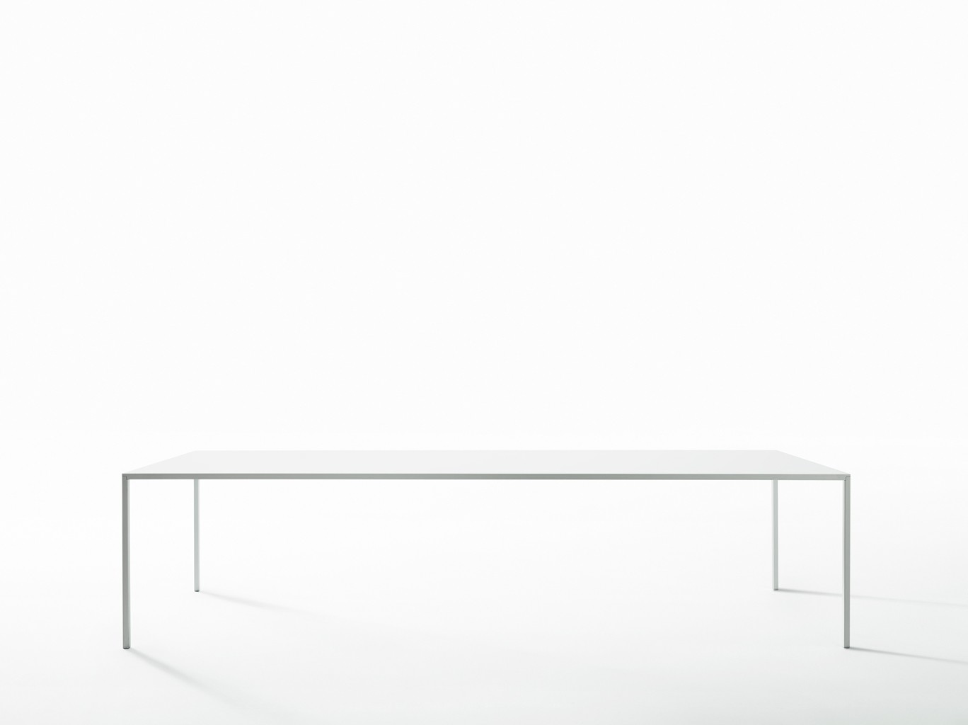 """25"" 625 Dining Table With Acrylic Resin Top 90 x 180cm"