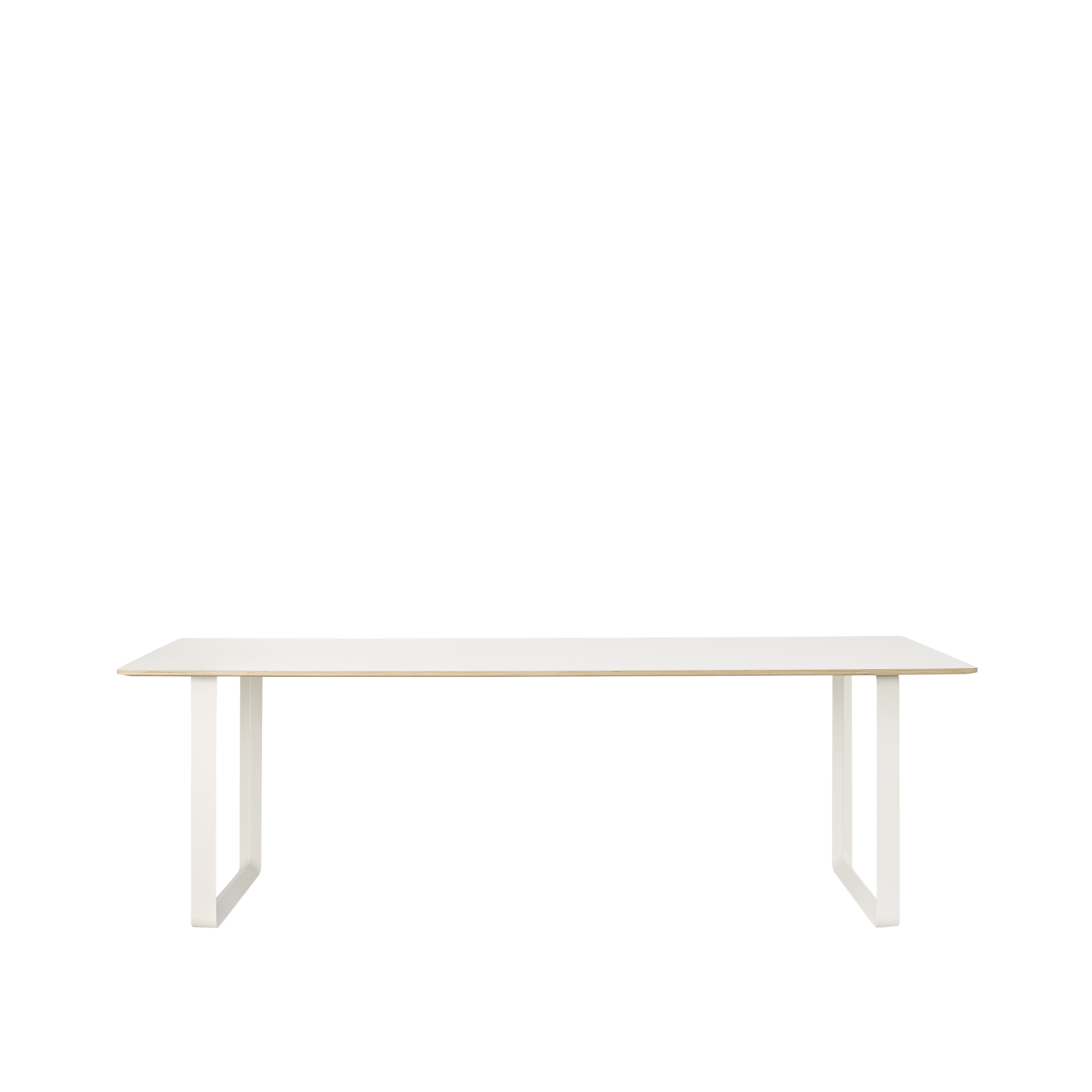 70/70 Table Extra Large White/White
