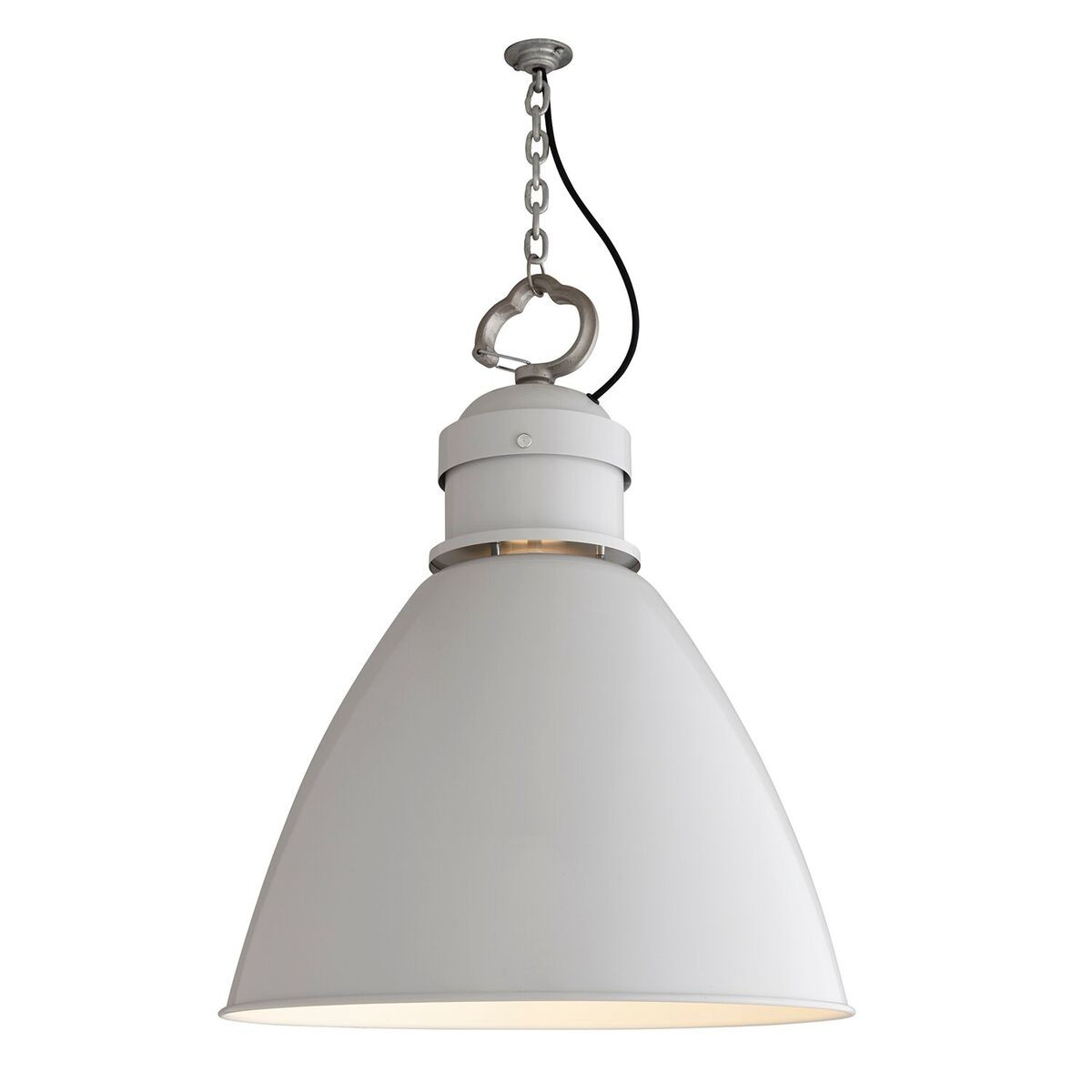 7380 Pendant Light Light Grey, Large