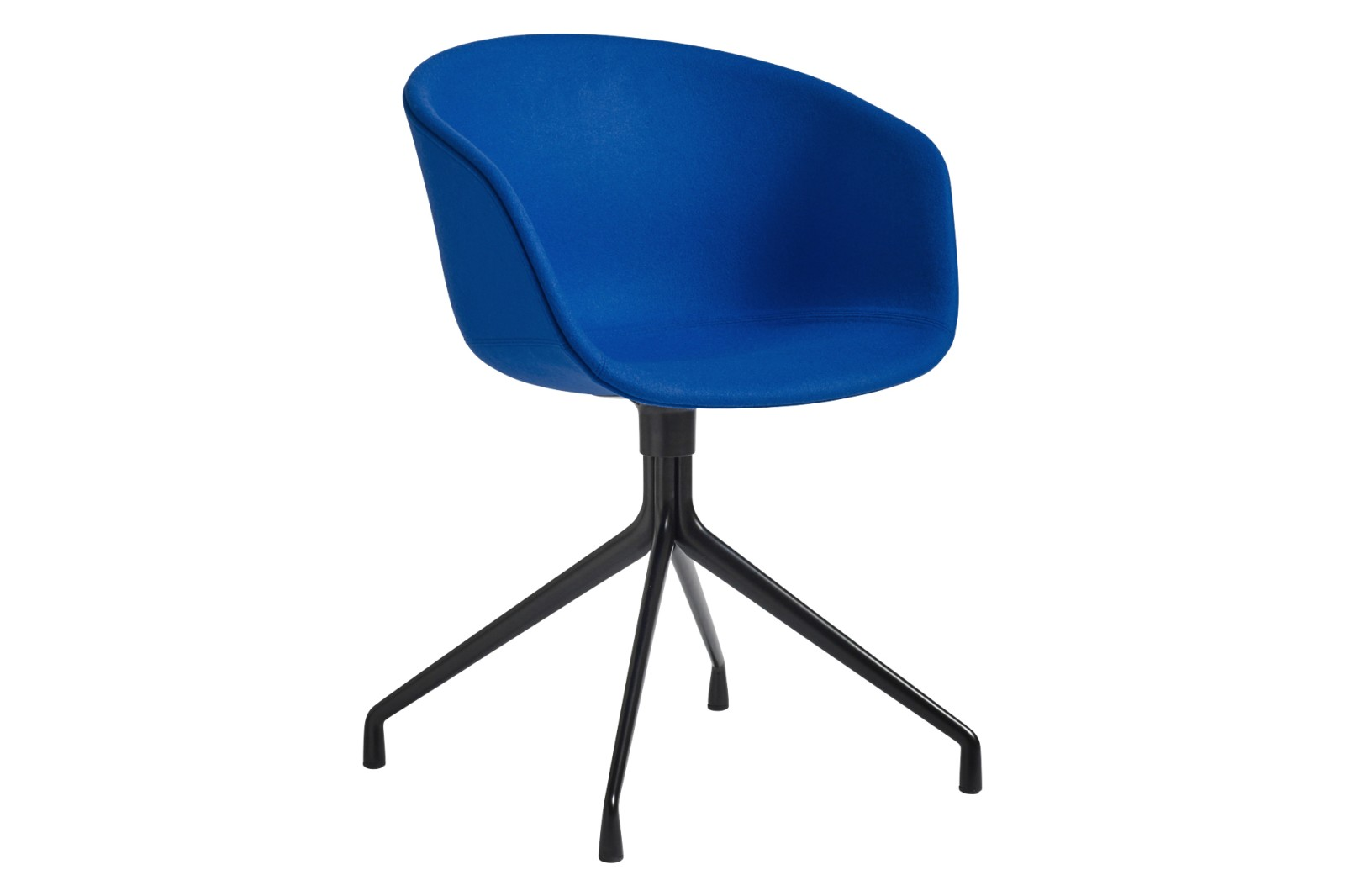 AAC 21 Meeting Chair Fabric Group 3, Metal Black