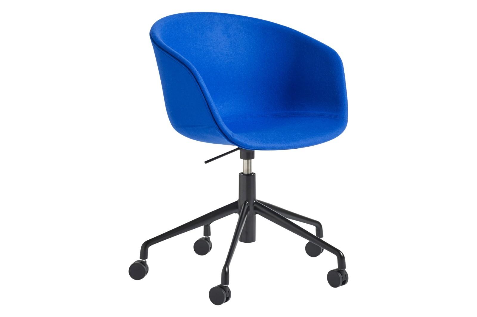 AAC 53 Meeting Chair Fabric Group 3, Metal Black
