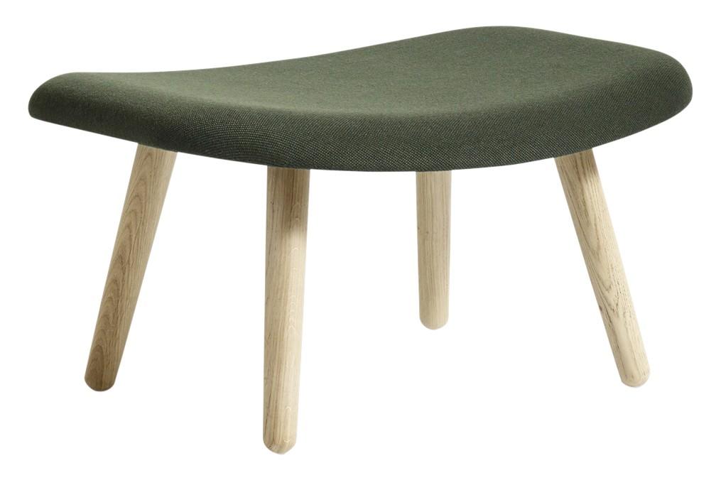 AAL 03 Ottoman Fabric Group 2, Wood Matt Oak