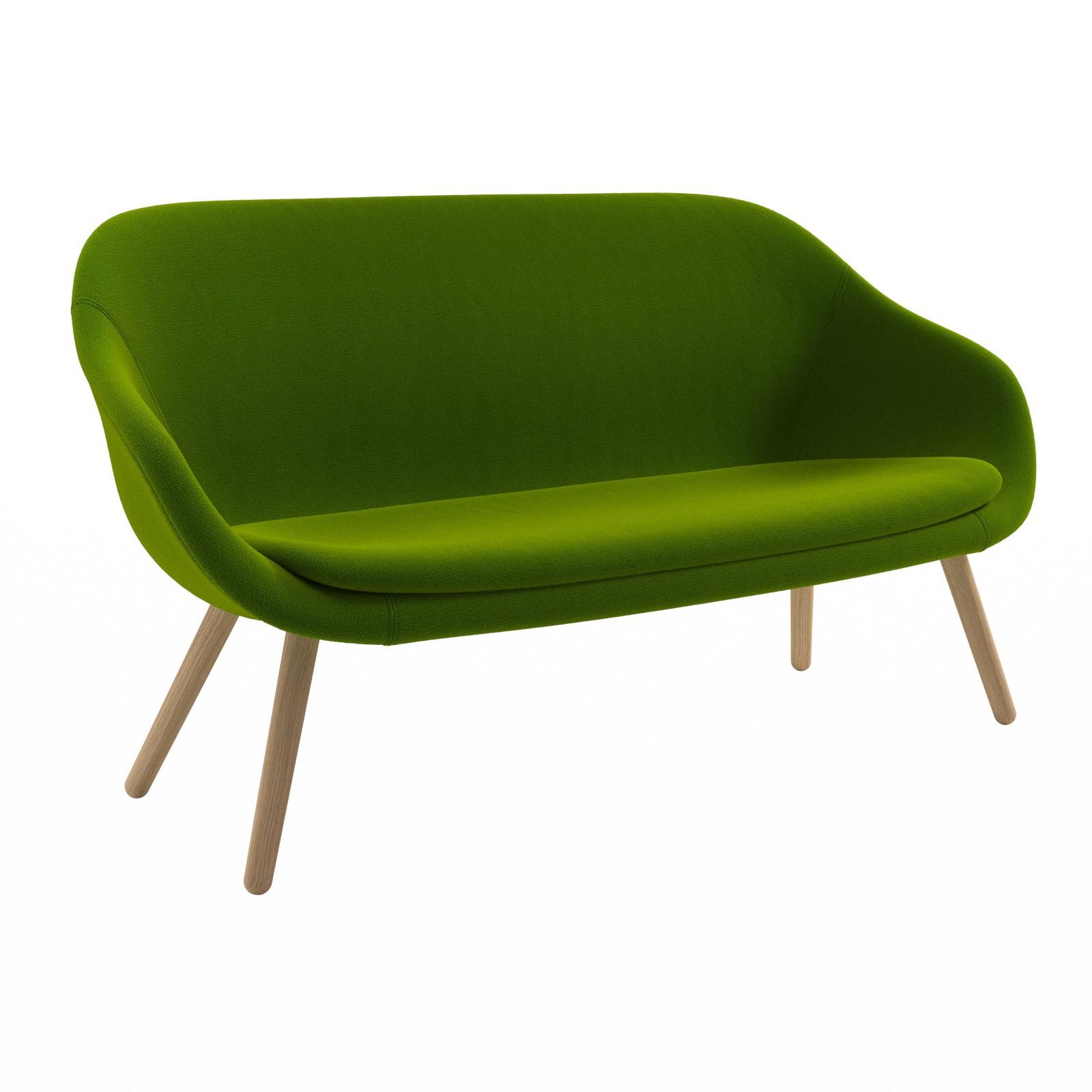 AAL sofa Hallingdal 65 960, Matt Lacquered Solid oak Frame, CMHR foam - No