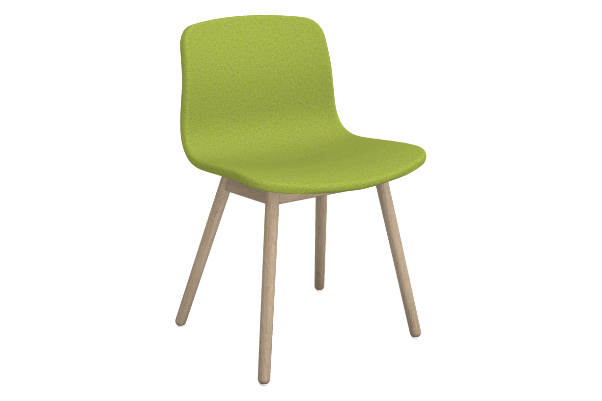 About A Chair AAC 13 Divina melange 2 931, Matt Lacquered Solid oak Frame, CMHR foam - No, Standard